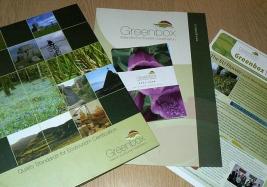 Greenbox Tourism print Literature
