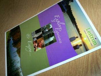 Self promotion Brochure