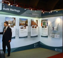 Concept design for EHS Corry Self Build, trade show Promoting Listed Buildings