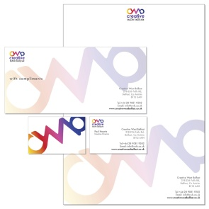 Logo and stationery design, Belfast