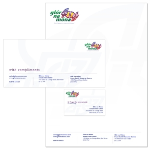 logo and stationery design Belfast