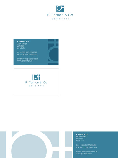 logo and Stationery. Newry and Dundalk