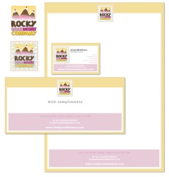 Cake & Sweet Company stationery concept, Co Louth