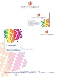 Tech office Supplies logo and Stationery. Sligo