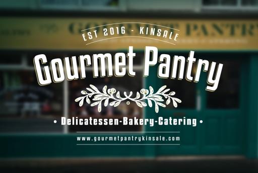 Gourmet shop front signage