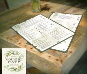 Gourmet Pantry menu