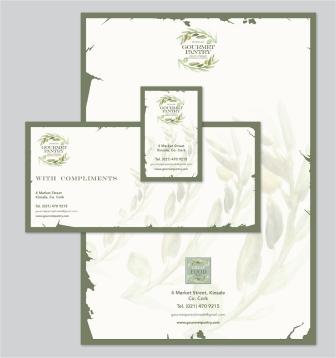 Gourmet Pantry - Kinsale Stationery Design