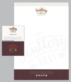 Scullery Brand Stationery