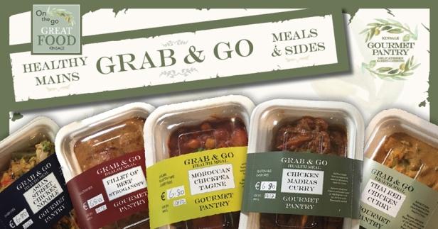 Gourmet Pantry Grab & Go Meals